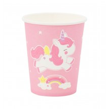 ALLC - Paper cups: Unicorn