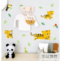 ALLC - Wall sticker - Jungle Tiger